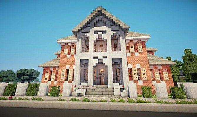 Greek Revival Mansion Minecraft Project