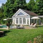 Greek Revival Pool House Accessory Buildings
