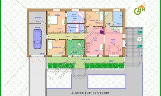 Green Home Design Plans Passive Solar House