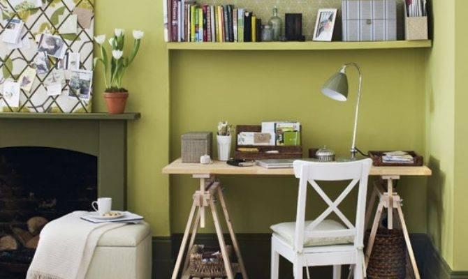 Green Home Office Design Ideas