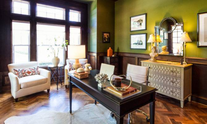 Green Home Office Maureen Stevens