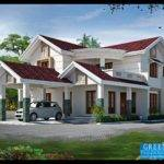 Green Homes Bhk Kerala Home Design Feet