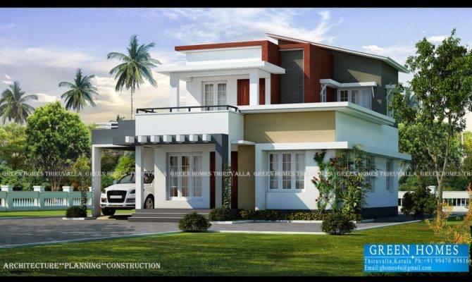 Green Homes Contemporary Home Designs