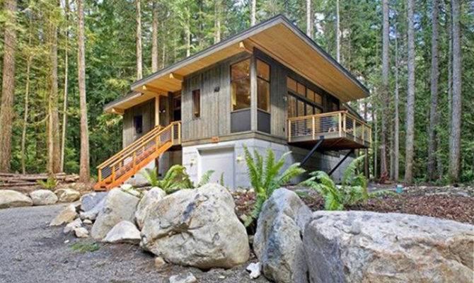 Green Prefab Eco Friendly House Designs Washington Iroonie