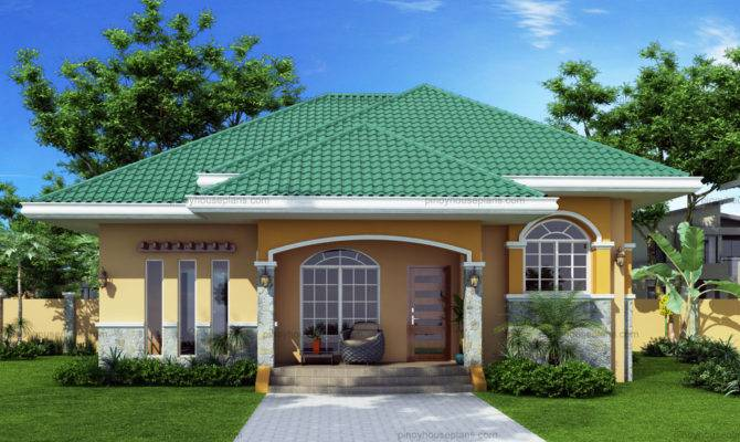 Green Roof Bungalow House Plans