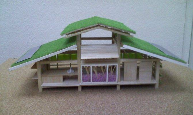 Green Roof Design Ideas Miniature House