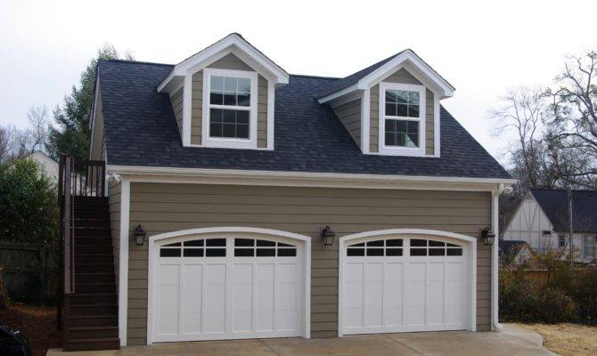 Greenville Country Club Area Detached Garage Hadrian Construction