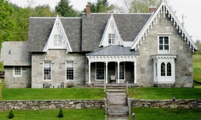 Grey Beauties Vermont Old Stone Houses