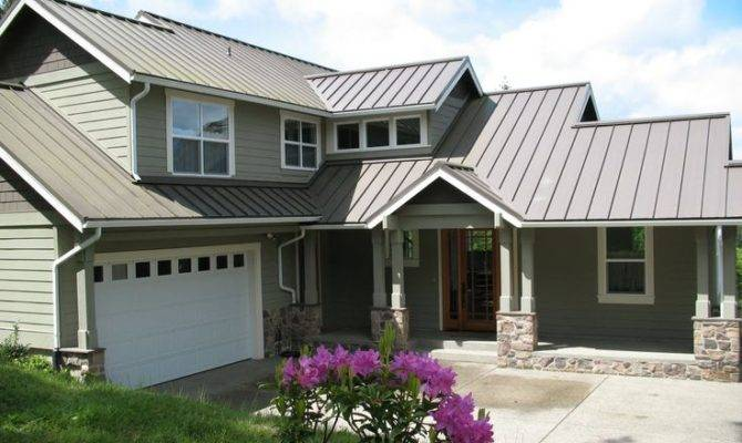 Grey Metal Roof Siding Dreamy Home Pinterest