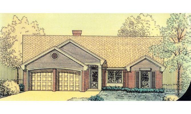 Grigsby Narrow Lot Ranch Home Plan House Plans More