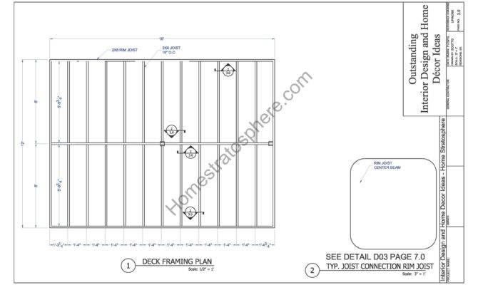Ground Flat Deck Plan Pdf Blueprint