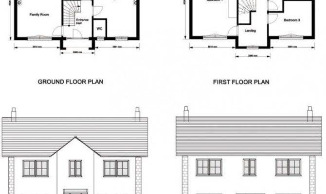 Ground Floor First Plan Elevations Sections