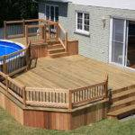 Ground Pool Decks Deck Plans Material List