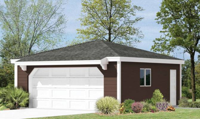 Guadalupe Hip Roof Garage Plan House Plans