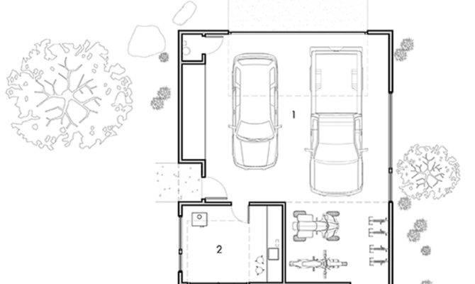 Guest House Garage Floor Plans Home Design Style