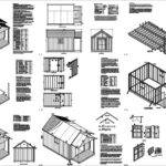 Guest House Garden Porch Shed Plans Material List