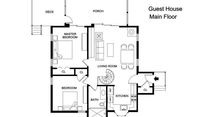 Guest House Main Floor