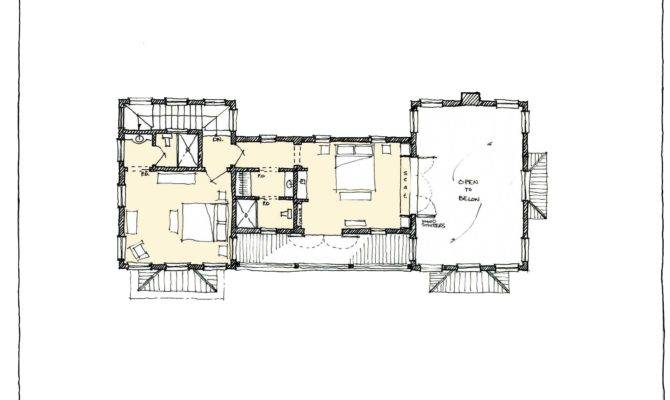 Guest House Second Floor Plan
