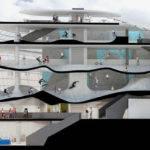 Guy Hollaway Architects Multi Storey Skatepark Folkestone Designboom