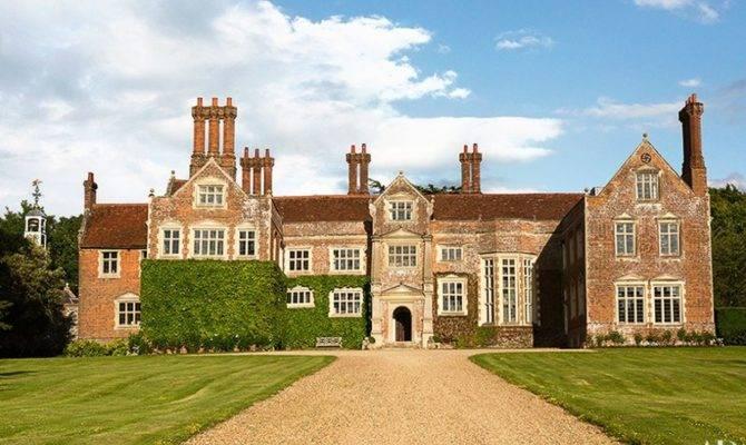Habitually Chic Claudia Schiffer Tudor Mansion