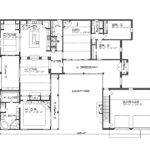 Hacienda Style Homes Floor Plans Courtyard