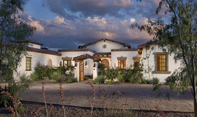 Hacienda Style Homes Houzz