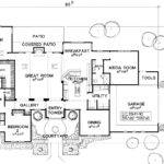 Hacienda Style House Plans Courtyard