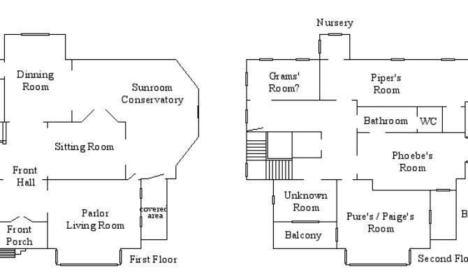 Halliwell Manor Floor Plan Notsalony Deviantart