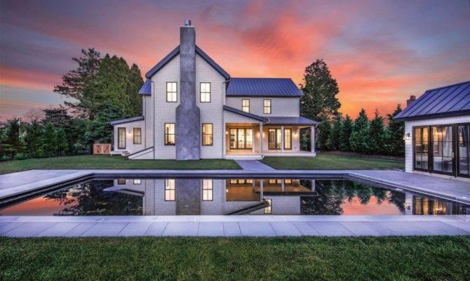 Hamptons Open House Amagansett Modern Farmhouse