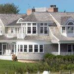 Hamptons Style Beach House Sea Pinterest