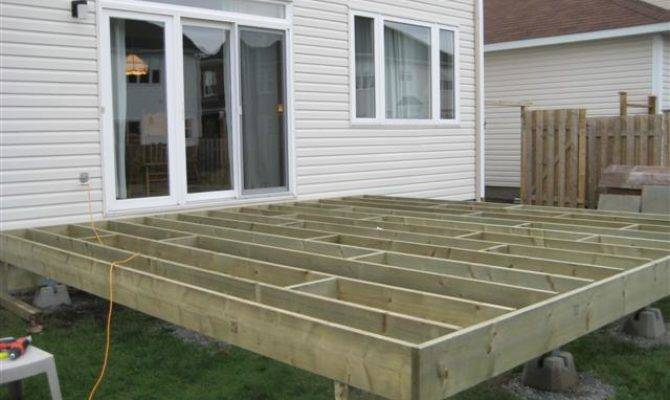 Handi Block Deck Plans Small Covered