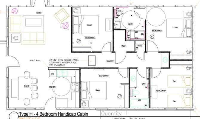 Handicap Bathroom Design Plans Floor