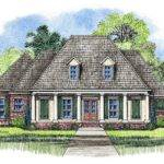 Harris Acadian House Plans Louisiana