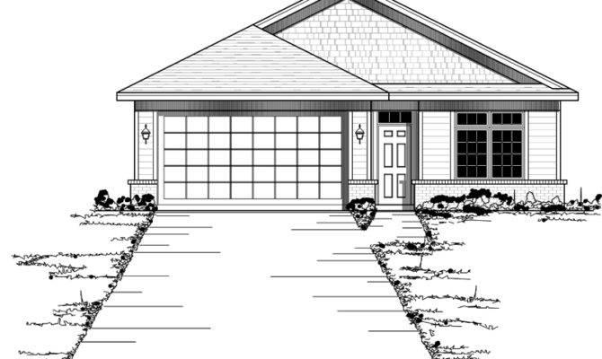 Hazelridge Narrow Lot Home Plan House Plans More