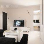Hdb Room Flat Interior Almost Pure White Living