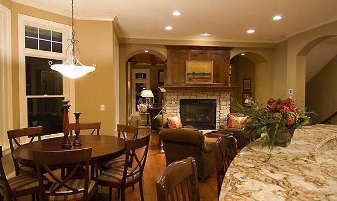 Hearth Room Through Fireplace Pinterest