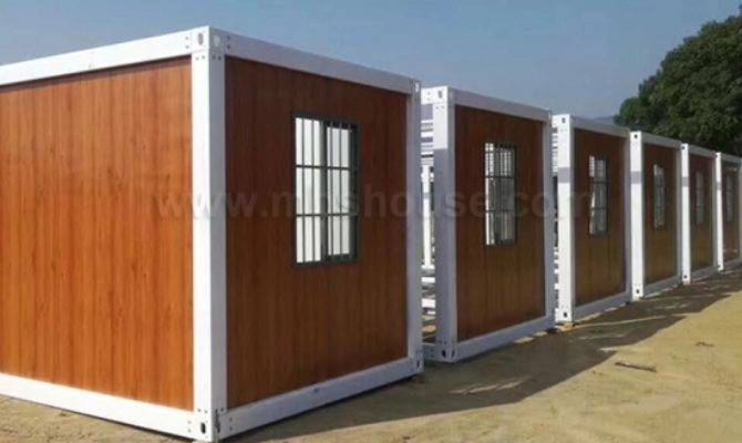 Heat Insulated Modular Detachable Plans Prefab Container