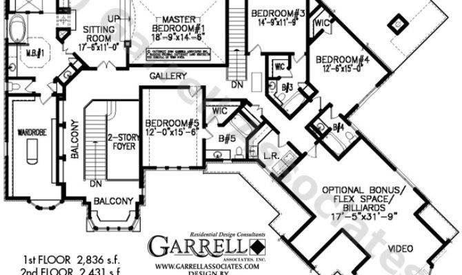 Heathfield Manor House Plan Dual Master Plans
