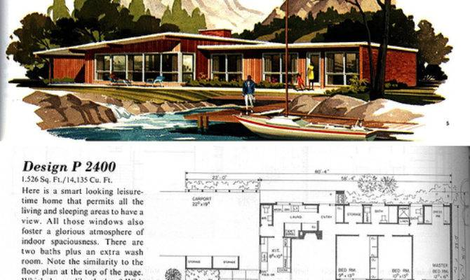 Here Things Like Mid Century Home Plans