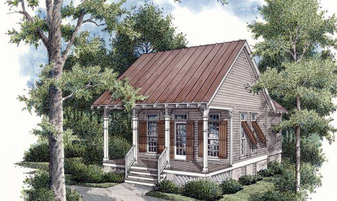 Heronpond Rustic Country Cabin Plan House Plans More