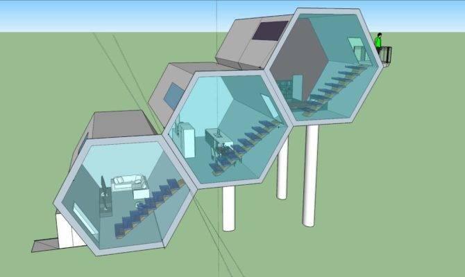 Hexagon House Youtube