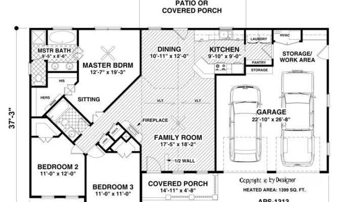 Hidden Room House Plans Floor