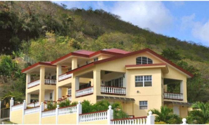 High Caribbean House Plans