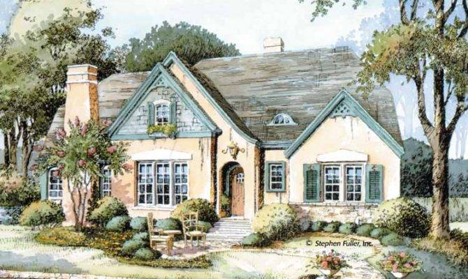 High Cottage Style Home Plans English