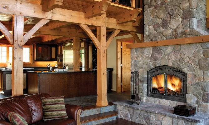 High Country Harding Fireplace