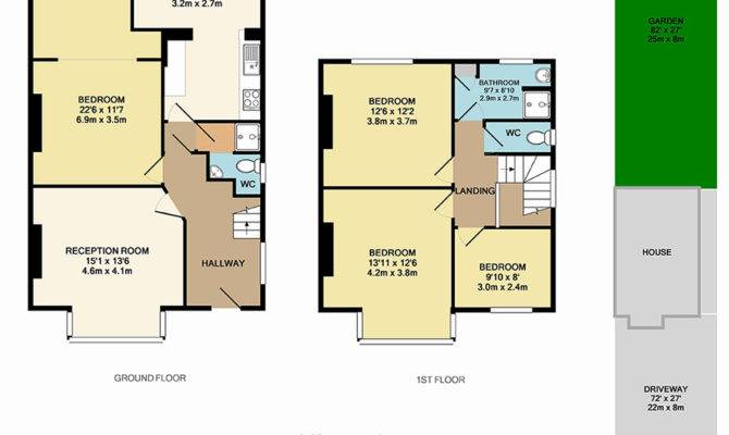High Quality Floor Planning Property Plans London