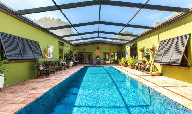 Highly Indialantic Courtyard Pool Home