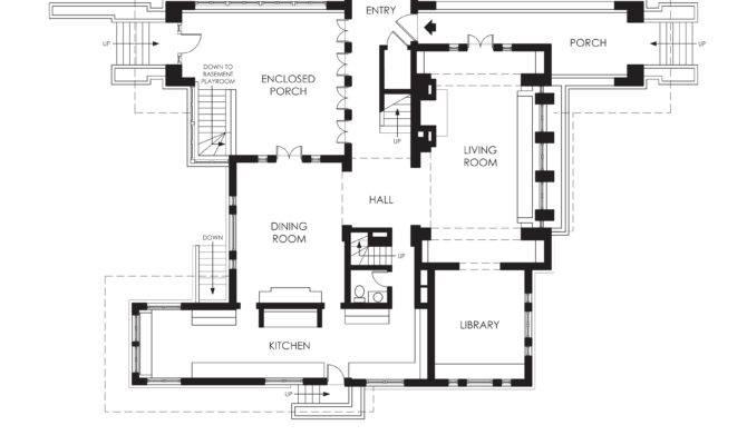 Hills Decaro House First Floor Plan Wikipedia