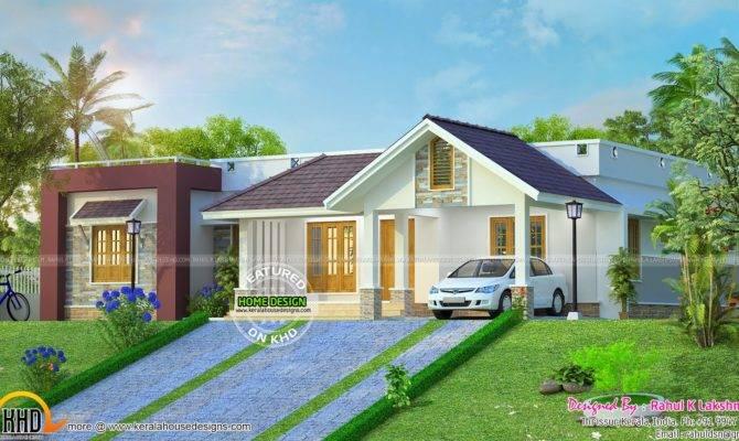Hillside Home Plan Kerala Design Floor Plans