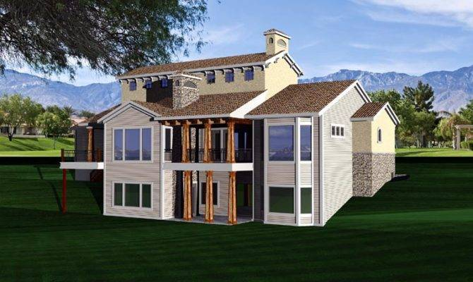 Hillside House Plan